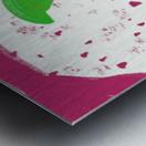 Hua flower Metal print