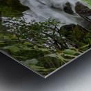 Beautiful Waterfall Photograph Metal print