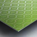 Islamic Green Art Metal print