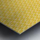 Yellow Flora Metal print