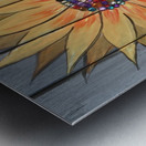 Jeweled Daisy Metal print
