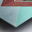 Geometric XX Metal print