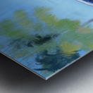 Cuba Blue Car Metal print