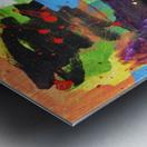 Bright Abstract. Walker W. Metal print