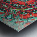 Abstract Mandala I Metal print