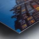 Blue Amsterdam Metal print