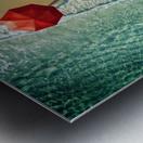 . deep water . Metal print