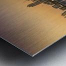 Doha reflections Metal print