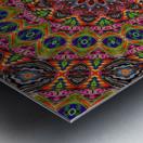 Cherga Mandala I Metal print