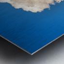 Atomic Cloud Metal print