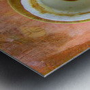 Coffee with Klimt Metal print