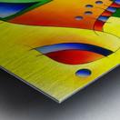 Antaressa - colourful world Metal print