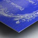 Psalm 16 8 7BL Metal print