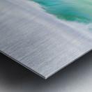 CANARY WAVES 2. Metal print