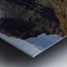 Skaros Rock - Santorini Metal print