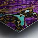 Pattern LXXVIII   II   Panoramic Metal print