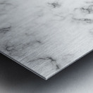 ABSTRACT MODERN YELLOW GREEN MARBLE Metal print