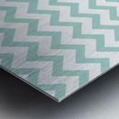ARCTIC CHEVRON Metal print