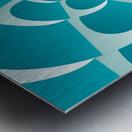 Blue Grill Metal print