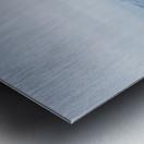 Lake Geneva and Alps Metal print