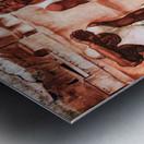 The men by Albin Egger-Lienz Metal print
