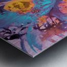 Liquid series 19 Metal print