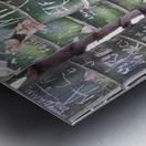 Bamboo Sign Metal print