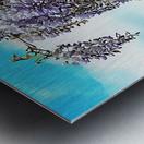 Wisteria Cascade Metal print