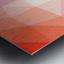 Abstract art patterns low poly polygon 3D backgrounds, textures, and vectors (10) Metal print