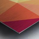 patterns polygon 3D (49) Metal print