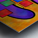 Desmelotipia - colourful cubes Metal print
