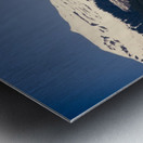 Snowy Alps Metal print