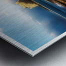 Bahamas Lighthouse with Resort Soft Metal print