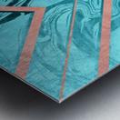 Geometric XXXXVI Metal print
