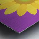 Sunflower (11)_1559876665.8187 Metal print