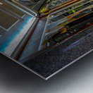 Hallway Metal print