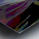 Colorful Melody Waves Metal print