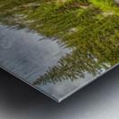 Periodic Spring Flowing into Swift Creek Metal print