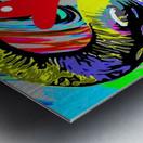 Color Elephant Metal print