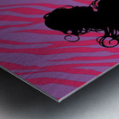 Silhouette 7 Metal print