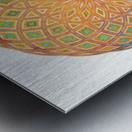 Life Geometry Metal print