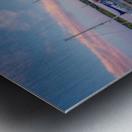 Acadian Skies Metal print