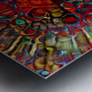 Colorful Mushroom Metal print