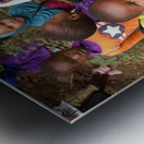Many Faces of Africa Metal print