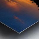 Firey Sunset Metal print