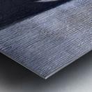 Blue Horserider 1 Impression metal
