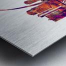 St. Louis Missouri Skyline Metal print
