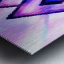 Valknut Light & Colorful Metal print