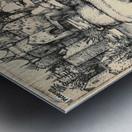 Monstrous Sow of Landser Metal print