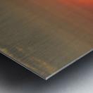 Orange Sunset Vertical Metal print